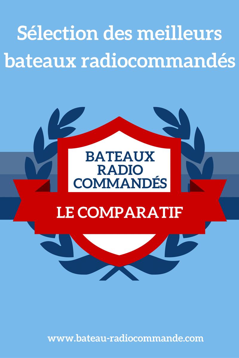 Comparatif bateaux radiocommandés