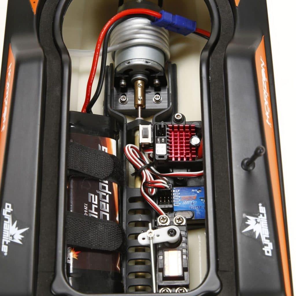 Stealthwake RTR Brushed Deep-V moteur