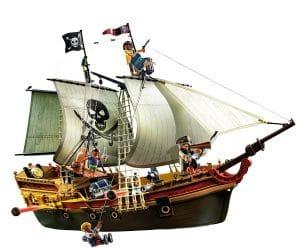Playmobil - 5135 - Bateau d'attaque des pirates