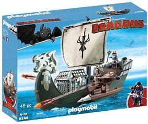 Playmobil - 9244 - Dragons - Drago Et Vaisseau d'Attaque