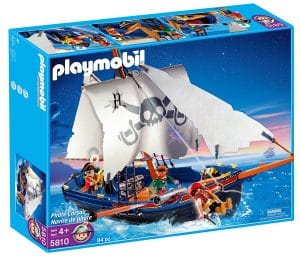 bateau de Pirate Playmobil 5810