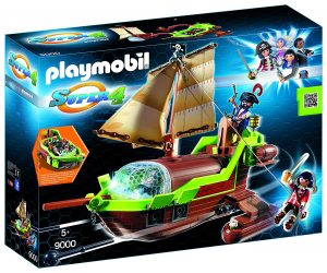 bateau pirate caméléon