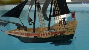 bateau piratePlaymobil des ténèbres