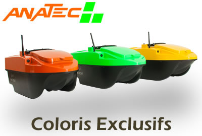 Anatec Pac Boat couleurs