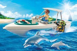 bateau Playmobil 6981 utilisation