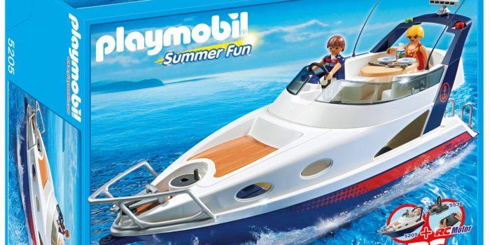 bateau Playmobil Yatch de Luxe 5202