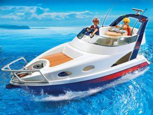 bateau Playmobil Yacht de Luxe 5202 utilisation