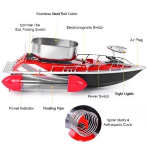 bateau amorceur GBlife présentation