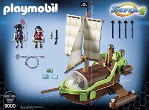 bateau pirate caméléon playmobil 9000 présentation