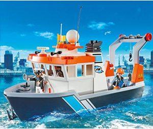 bateau remorqueur City Action Playmobil 9148 présentation