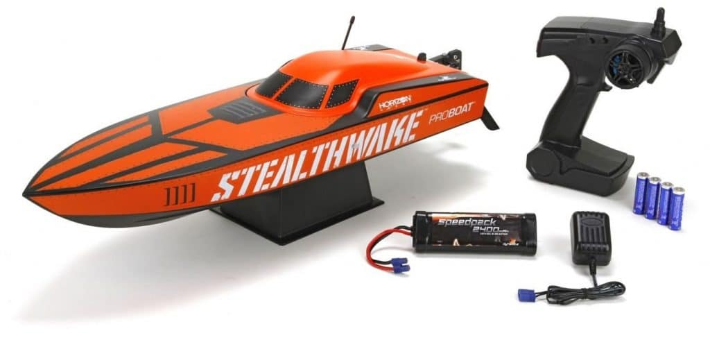 Stealthwake RTR Brushed Deep-V bateau radioncommandé