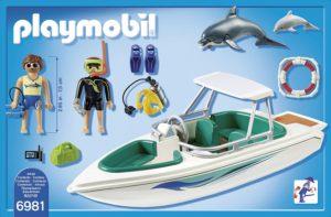 bateau Playmobil 6981 présentation